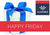 Air Serbia - `srećni petak`