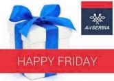 Air Serbia: Cene za `Srećni petak`