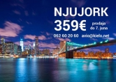Air France & KLM - Njujork 359 evra / Majami 449 evra