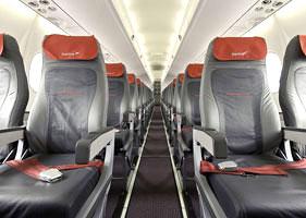 Svi avioni Austriana sa novom putničkom kabinom