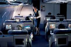 Primeri viših putnih klasa: Lufthansa