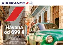 Air France: Specijalna cena do Havane od 699 evra