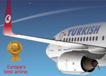 Turkish Airlines najbolja aviokompanija u Evropi