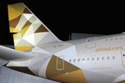 Etihad predstavio novi izgled aviona na svom prvom A380