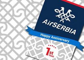 Air Serbia proslavila prvi rođendan