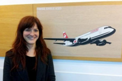 Birgit Reischl, Swiss International Air Lines