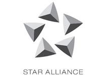 Aviokarta na odboru Star Alliance u Delhiju