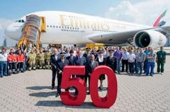 Najveća aviokompanija sa širokotrupnim avionima je...