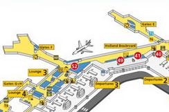 Promena check-in šaltera Air Serbije u Amsterdamu