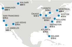 Najvažnije destinacije u SAD