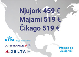 Air France & KLM - velika prolećna promocija!
