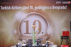 Turkish Airlines proslavio 10 godina sa nama!