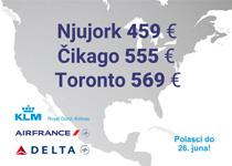 Air France & KLM - velika prolećna promocija!