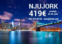 Air Serbia - Njujork nakon 15. avgusta