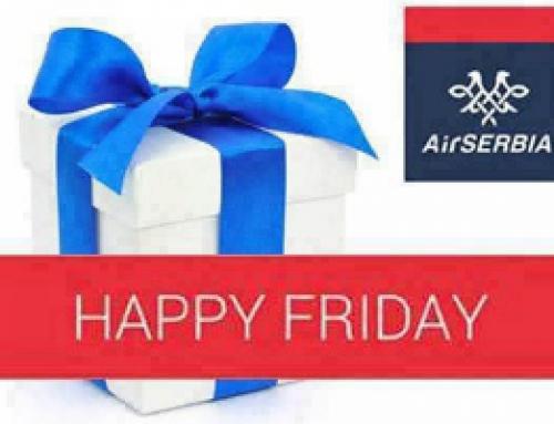 Air Serbia – Srećni petak!