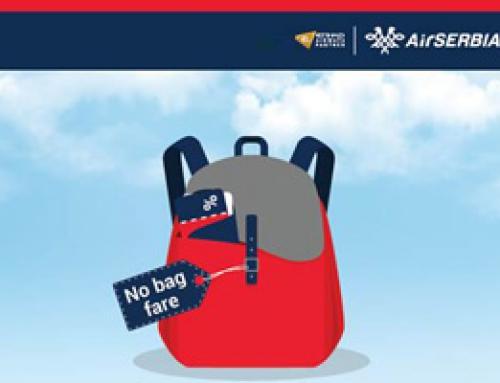 Air Serbia – 'bez kofera' akcija do 31. marta!
