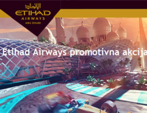 Etihad Airways – promocija do 27. marta!