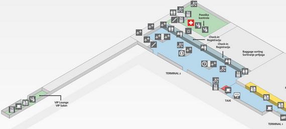 aerodrom beograd mapa Aerodromske procedure   Aviokarta.net aerodrom beograd mapa
