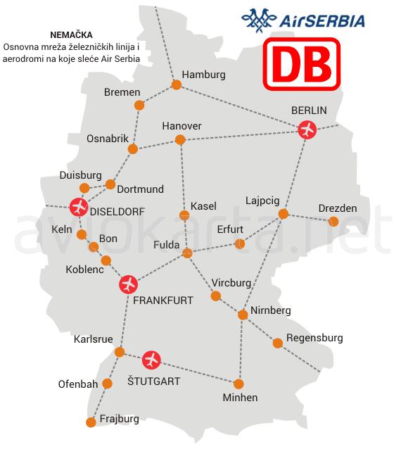 Gradovi Nemacke Mapa Superjoden