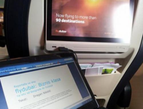 Reportaža: Srednjelinijska biznis klasa flydubaija
