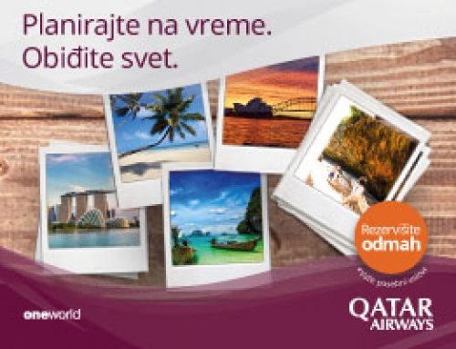 Qatar Airways – Promocija do 4. decembra!