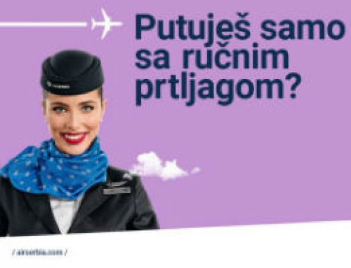 Air Serbia – NO BAG akcija od septembra!
