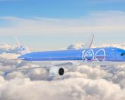 print-2019 klm 100 dreamliner